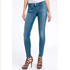 NWT 7 for all mankind Skinny jeans 29